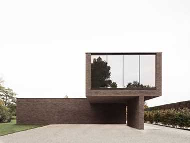 Slim facing brick Linea7 7022 in harmony with nature