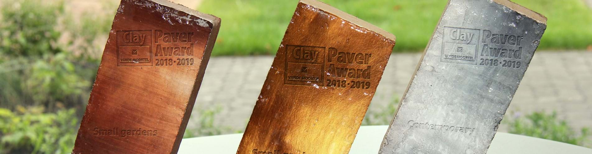 Enter the Clay Paver Awards 2020 - 2021